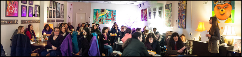Liverpool Artists Network meeting, photo by Tony Knox