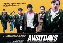AWAYDAYS film poster Reel Stories exhibition