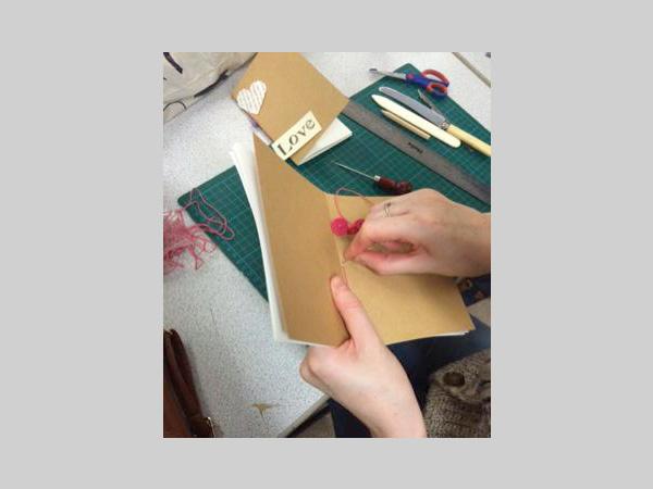 Brindley: Handmade Books Workshop with Kate Bufton