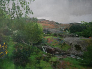 Landscape by Martin Greenland at Corke Gallery