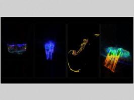 Galaxy Collisions - Ryoichi Kurokawa