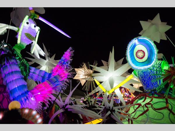 Festival Gardens: Lantern Company Luminous Landscapes: Spring Festival of Light
