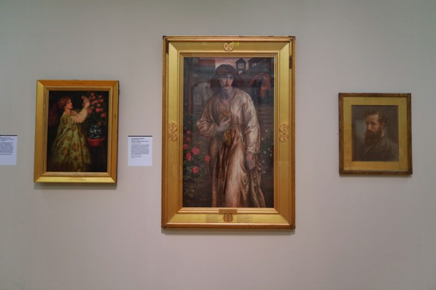 The Salutation of Beatrice. Dante Gabriel Rossetti 1880–81 (Centre)