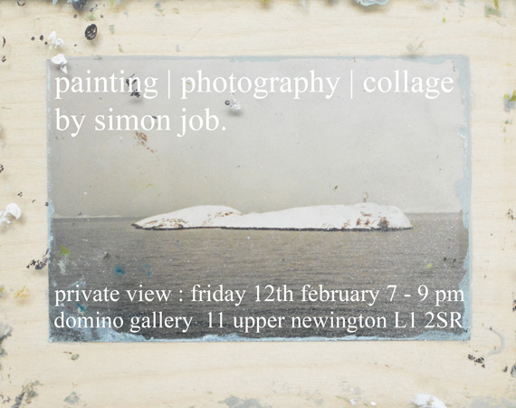 Domino Gallery: Exhibition by Simon Job