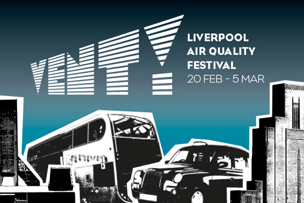 Various Venues: VENT! Liverpool Air Quality Festival featuring local artists