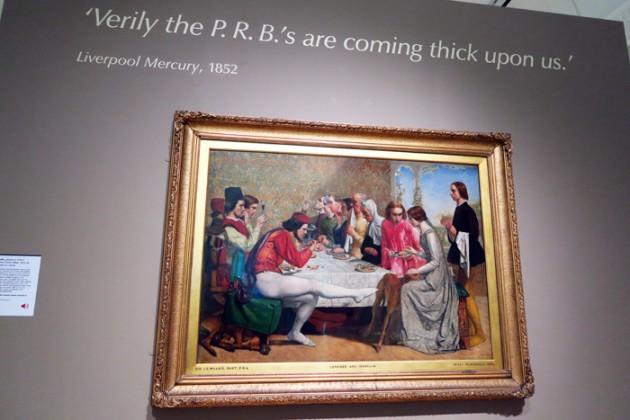 John Everett Millais (1829–96) Isabella, 1848–9