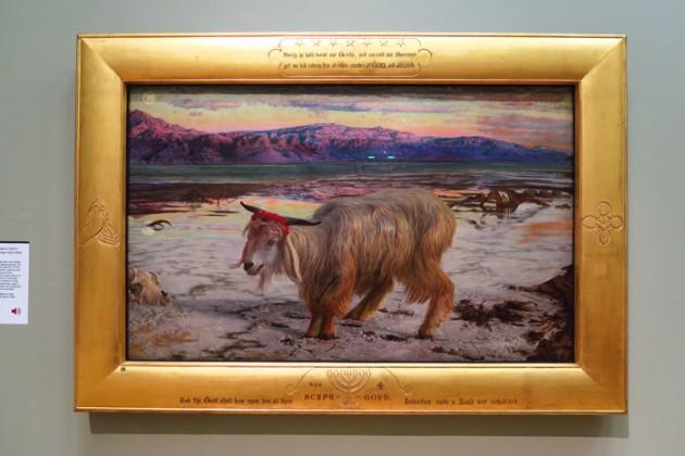 William Holman Hunt (1827–1910) The Scapegoat, 1854–5