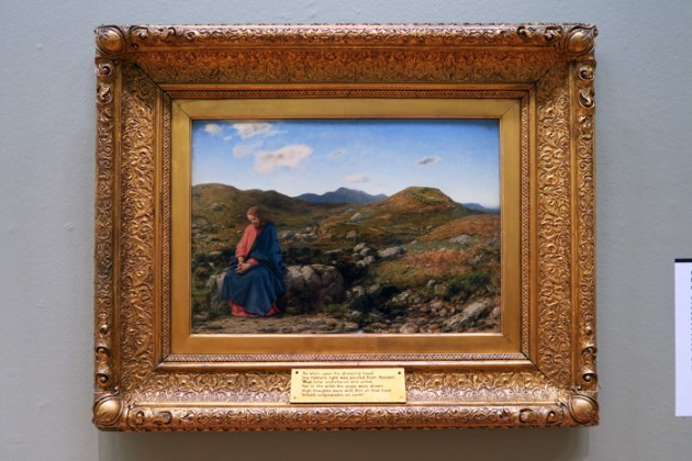 William Dyce (1806–64) Man of Sorrows, about 1859