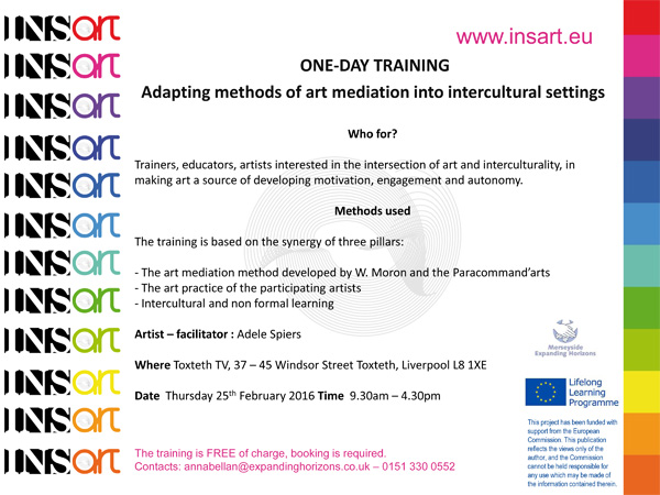 Toxteth TV: Workshop - Adapting methods of art mediation into intercultural settings