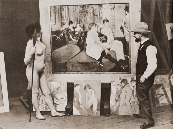 Fruit & Fibres:  'Belle Epoque'- Life Drawing Experience