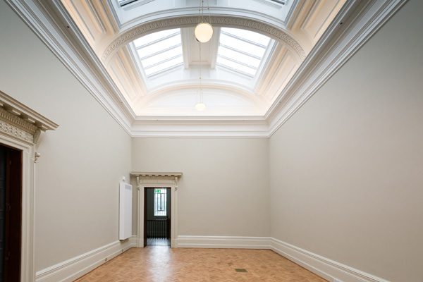 The new Wedgwood gallery (September 2015, prior to object installation) © Pete Carr