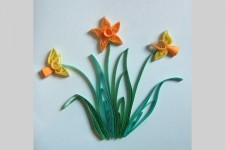 Quilling with Josie Jenkins at VGM