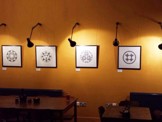 Catherine Harrison - Emblems at Coffee & Fandisha, Liverpool
