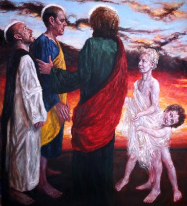 Christ Ascends to Heaven. Rob Floyd