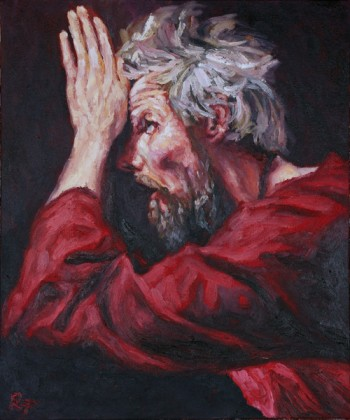 Christ Confirms the Faith of St Thomas. Rob Floyd