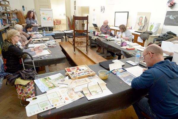 Williamson Art Gallery: General Drawing & Painting Classes