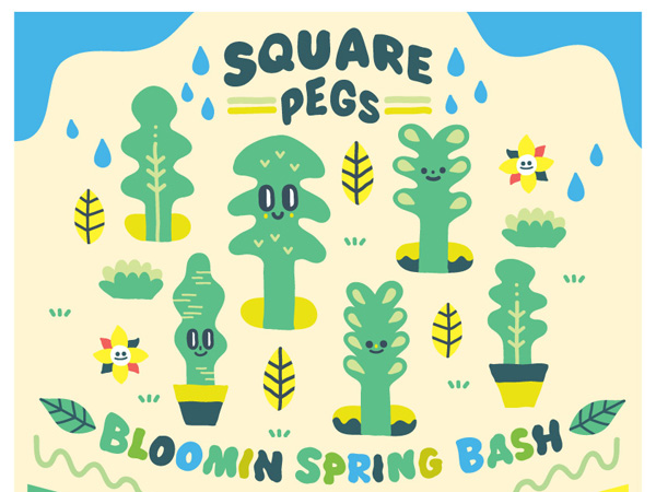 Constellations: Square Pegs - Bloomin' Spring Bash