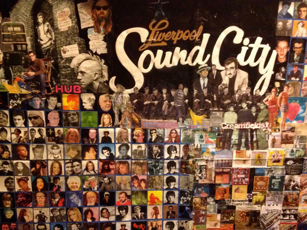 Sound City (Detail) by Phil Hayes