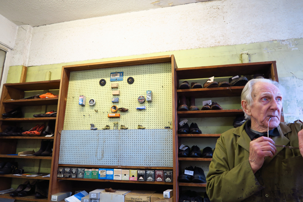 Translating the Street- Frank Cavanagh Shoe Repairs