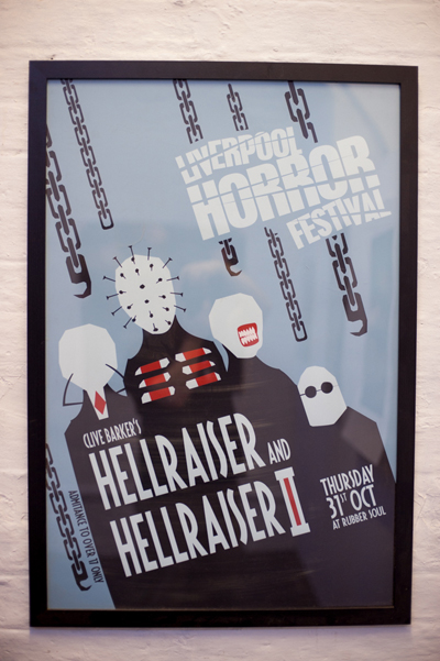Hellraiser poster by Ilan Sheady