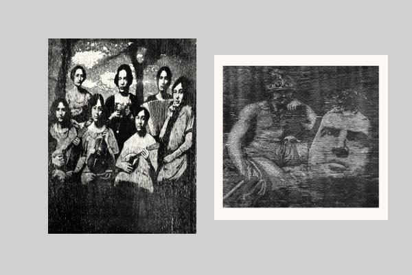 The Mandolinas and Francis Bacon & Mars. Gwilym Hughes at Editions Ltd