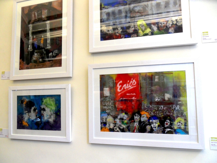Peter Cameron exhibition at Editions Ltd