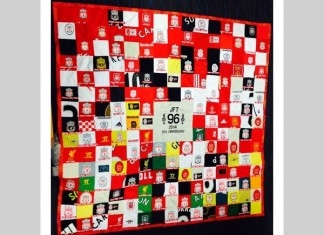 LFC Hillsborough quilt