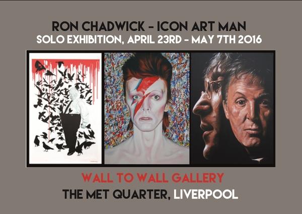 Wall to Wall Gallery: Ron Chadwick, 'Icon Art Man'