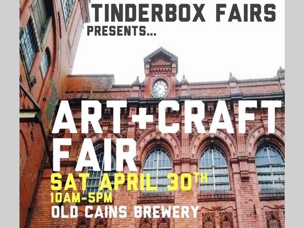 Cains Brewery Courtyard: Tinderbox Art & Craft Fair