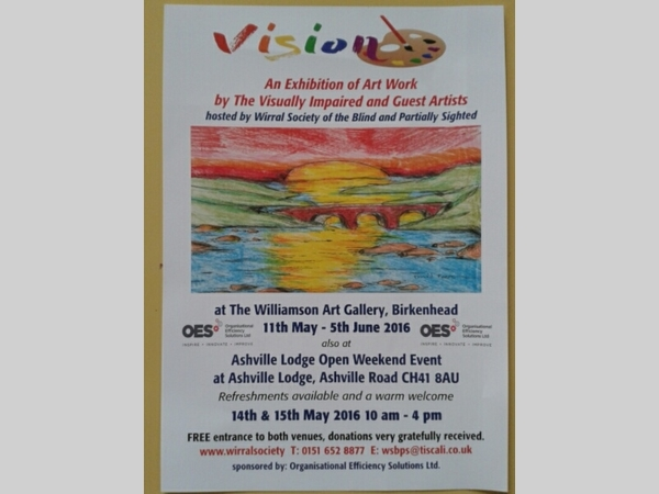 Ashville Lodge & Williamson Art Gallery: Vision Exhibition & Open Weekend