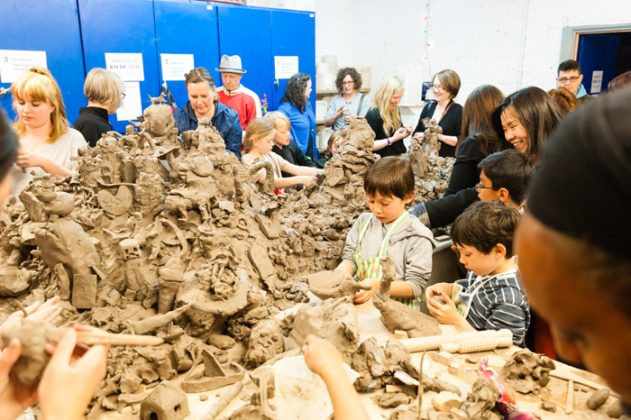 Clay-Lab, Open Culture, photo Pete Carr