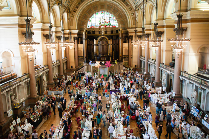 St George's Hall: Summer Arts Market 2016