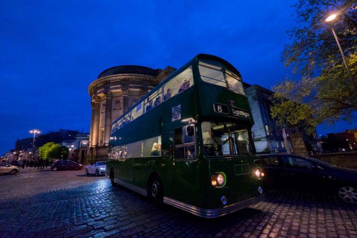 LightNight-bus, Open Culture, photo Mark McNulty