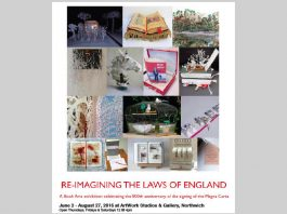 Artwork Studios: 'Re-imagining the Laws of England', Book Art Exhibition