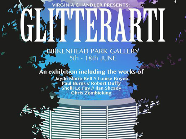 Birkenhead Park Visitor Centre: Glitterarti Group Exhibition