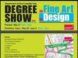 Cornerstone: Hope University Art & Design Degree Show