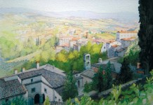 Convent & Church of Sllaria, Todi by John Pickles