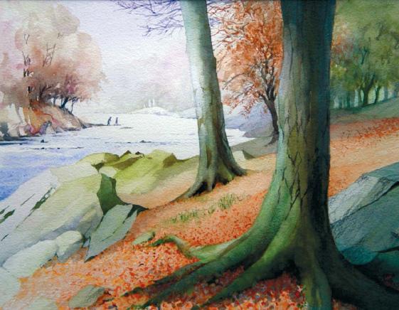The River Hodder II by John Pickles