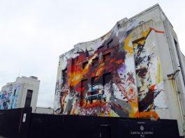 Littlewoods Building Murals, Liverpool, May 2016. Photo c. artinliverpool