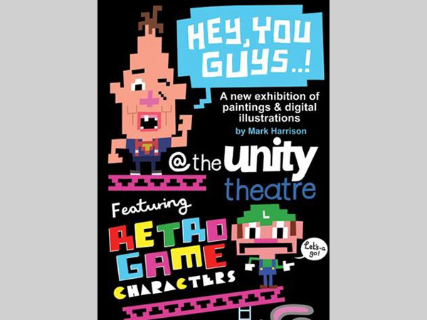 Unity Theatre: Paintings and Digital Illustrations by Mark Harrison