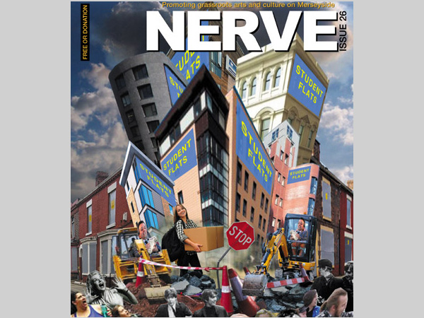 Courtroom Cafe: NERVE Magazine Launch Event