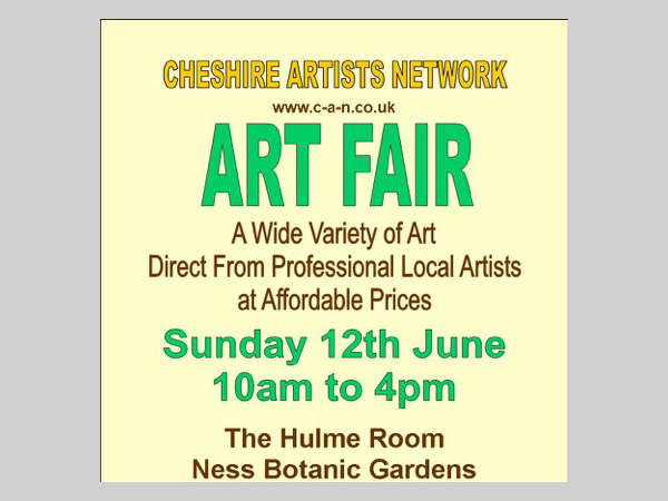 Ness Gardens: Cheshire Artists Network Art Fair