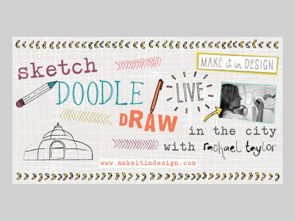 Palm House: Sketch Doodle Draw LIVE! with Rachael Taylor