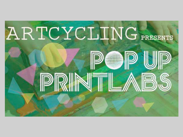 Constellations: ArtCycling Popup Print Lab Workshops