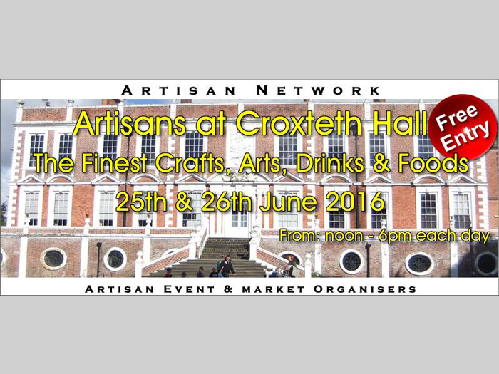Croxteth Hall: Weekend Artisans Festival