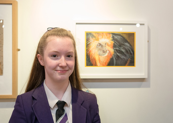 Nyah Boorman - Year 9 Overall Winner, dot-art Schools, 2016