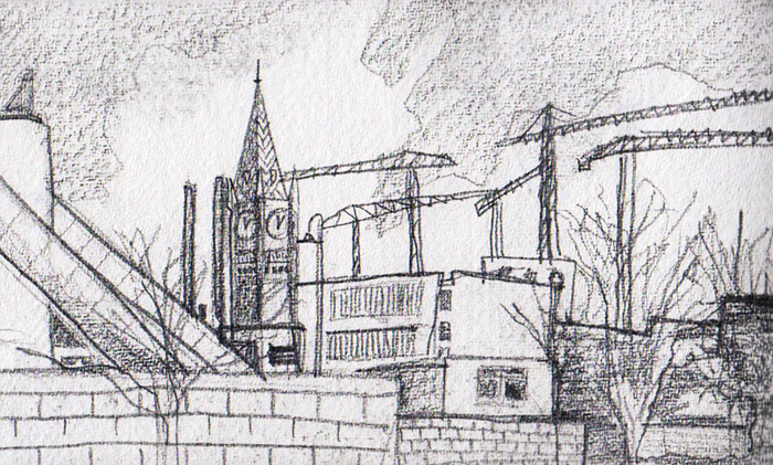 Liverpool Independent Art School: Sketching The City
