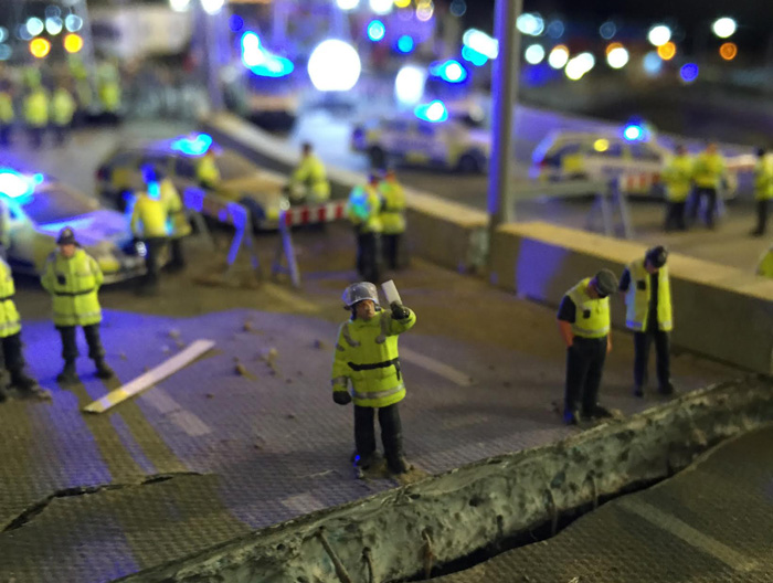 The Florrie: Aftermath Dislocation Principle, Installation by Jimmy Cauty