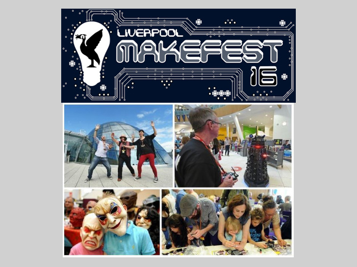 Central Library: Liverpool Makefest 2016