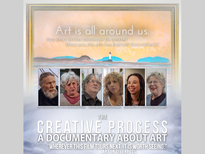 West Kirby Arts Centre: Film Screening: 'The Creative Process'